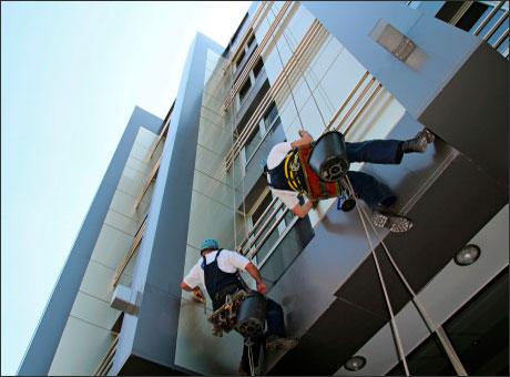 Rehabilitaci n alicante trabajos verticales sin andamios - Trabajos verticales en alicante ...